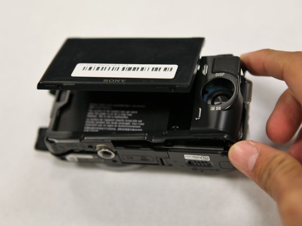 Sony Alpha NEX-C3 Back Panel Replacement