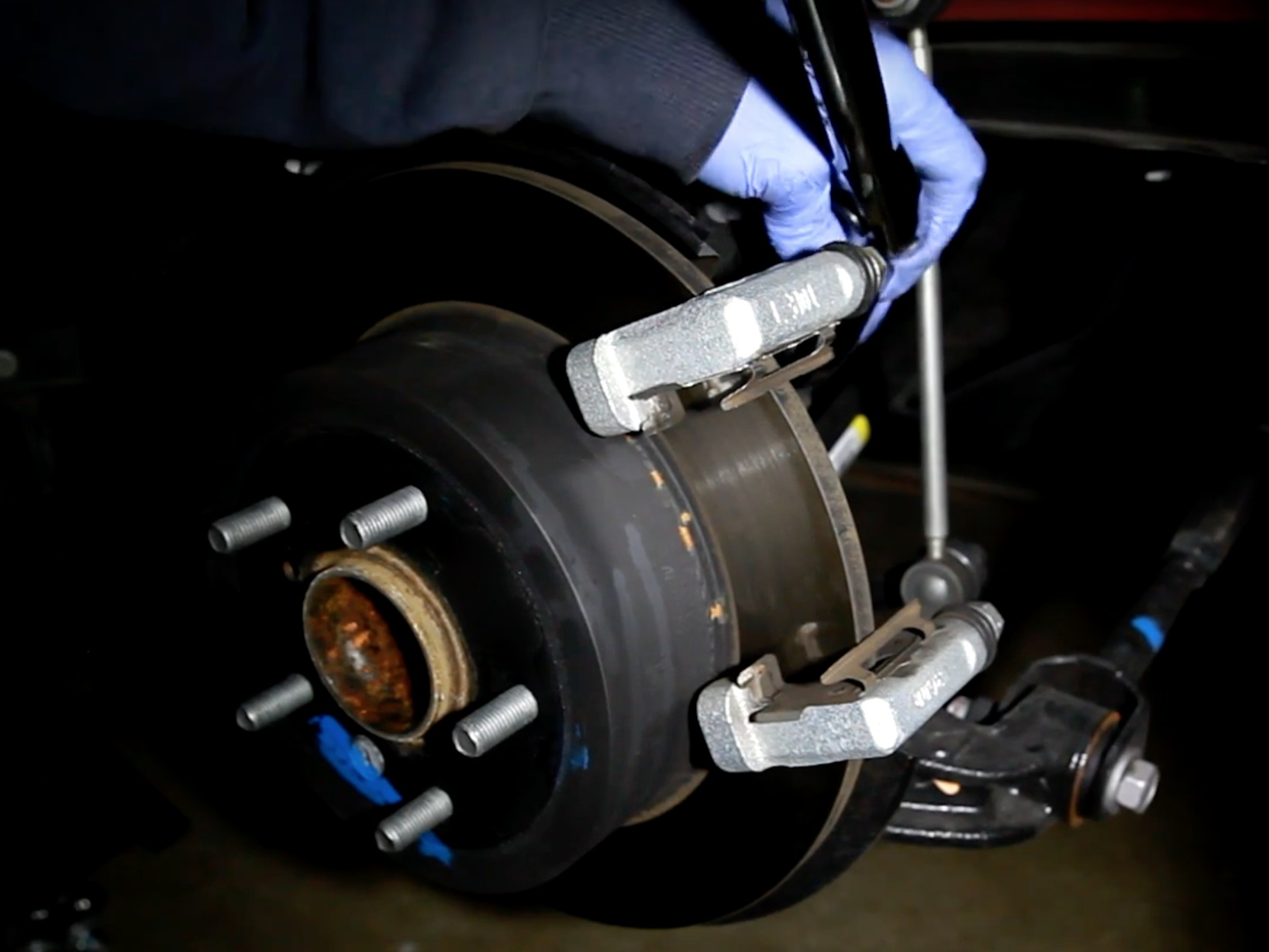 how to fix a toyota camry 2013 brake pad
