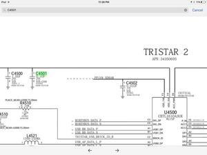 iphone 6s plus capacitor c4501 c4502 next to trista 1610a3 missing rh ifixit com