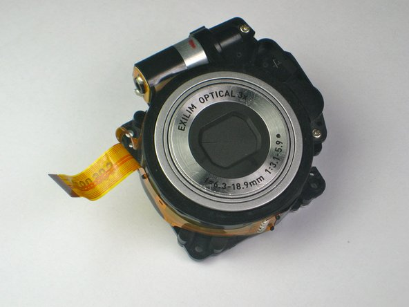 Casio Exilim EX-Z70 Lens Replacement