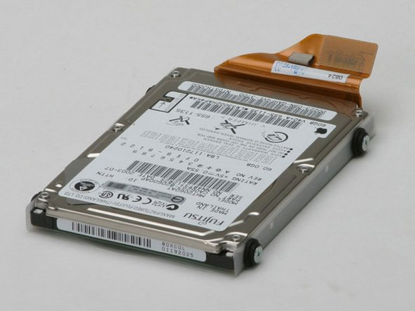 Your hard drive should look approximately like this.