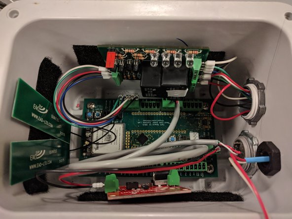 Autosampler Node Wiring
