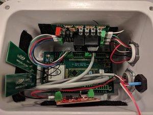 Autosampler Node Wiring  (For Old Version)