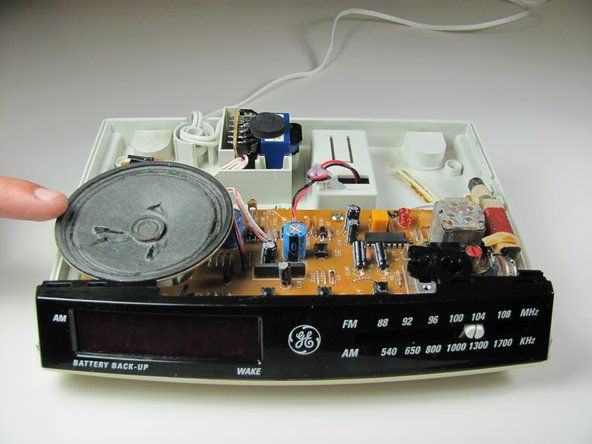 General Electric Telephone 2-9710A Base Speaker Replacement