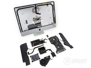 "iMac Intel 21.5"" EMC 2638 Teardown"