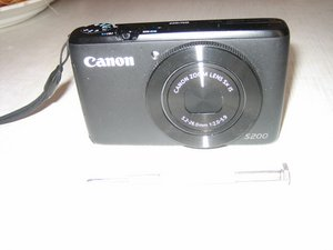 Canon Powershot S200 LCD Screen Replacement