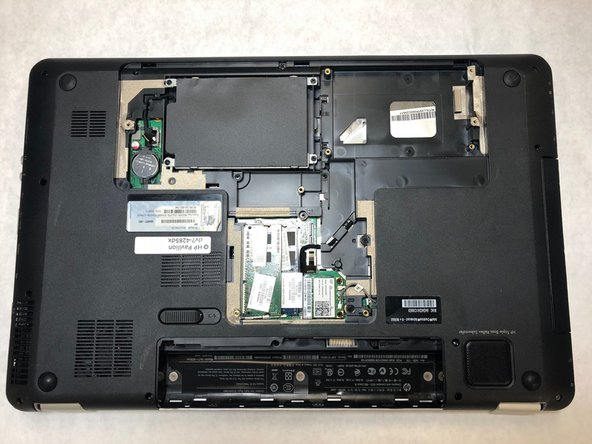 HP Pavilion dv7-4285dx Hard Drive Replacement