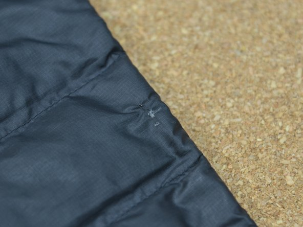 How To Repair A Baffle On A Patagonia Down Jacket