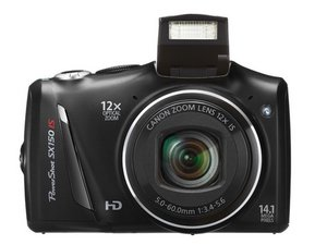 Canon PowerShot SX150 IS Troubleshooting
