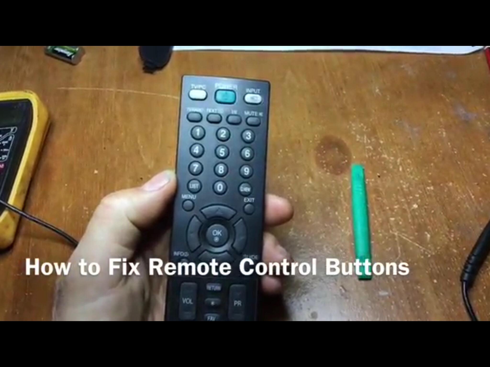 Remote Control Repair - iFixit