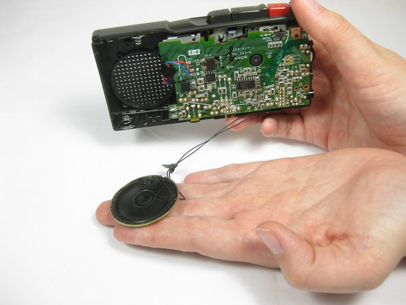 Sony M-430 Microcassette-Corder Speaker Replacement