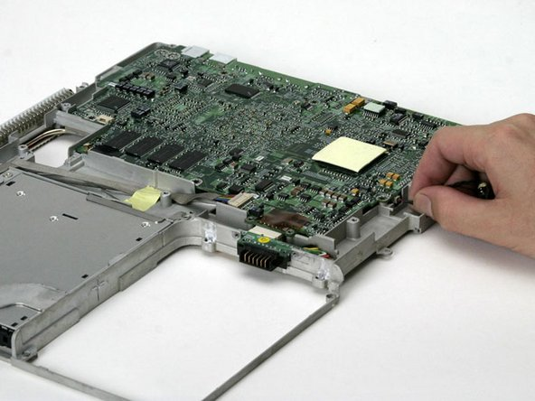 Disconnect the sleep light from the logic board.