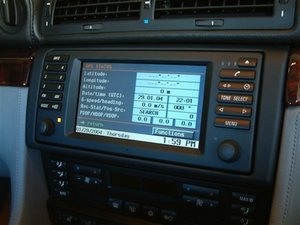 How to Access the Navigation Service Menu of the BMW E38 E39 X5 Z4 E46 Navigation system