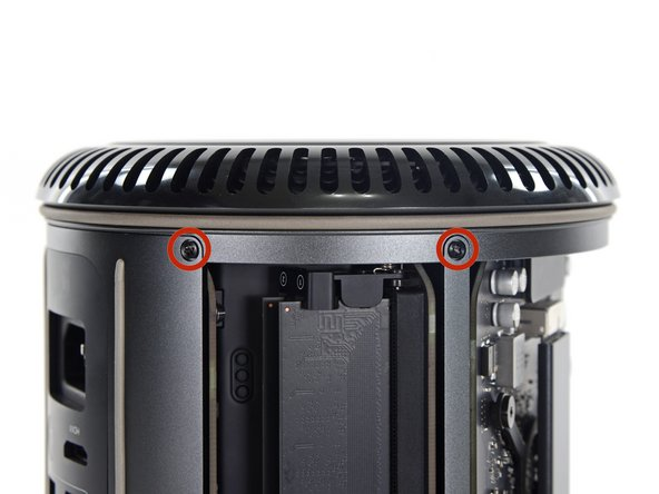 Flip the Mac Pro upside down, 180 degrees.