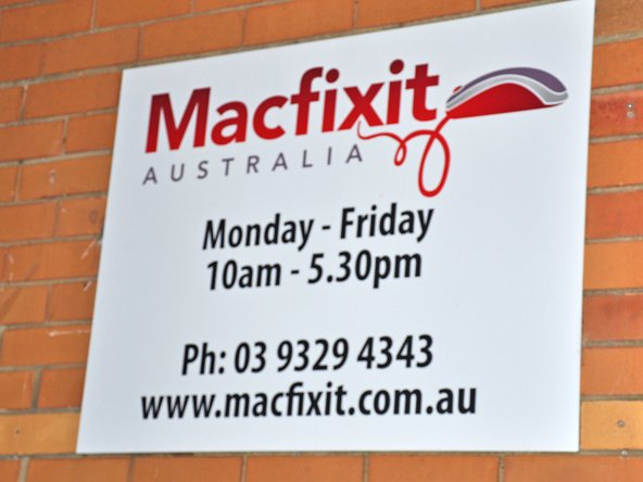 Image 2/2: A big thanks to [http://www.macfixit.com.au/shop/|Macfixit Australia] for letting us use their facility for the teardown!