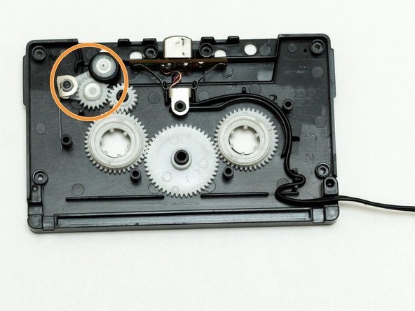 Fixing the Automatic Reverse Flipping of a Cassette-to-Aux Adaptor