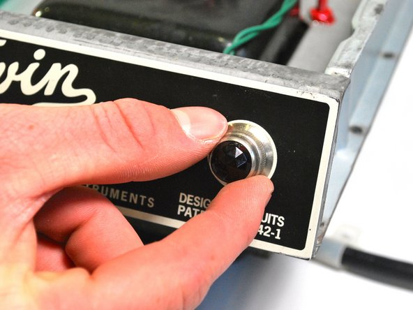 Fender 65 Twin Reverb Light Bulb Replacement