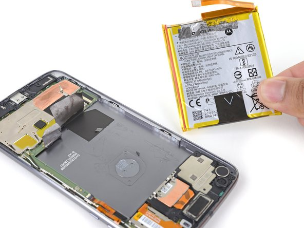 Motorola Moto Z2 Force Battery Replacement