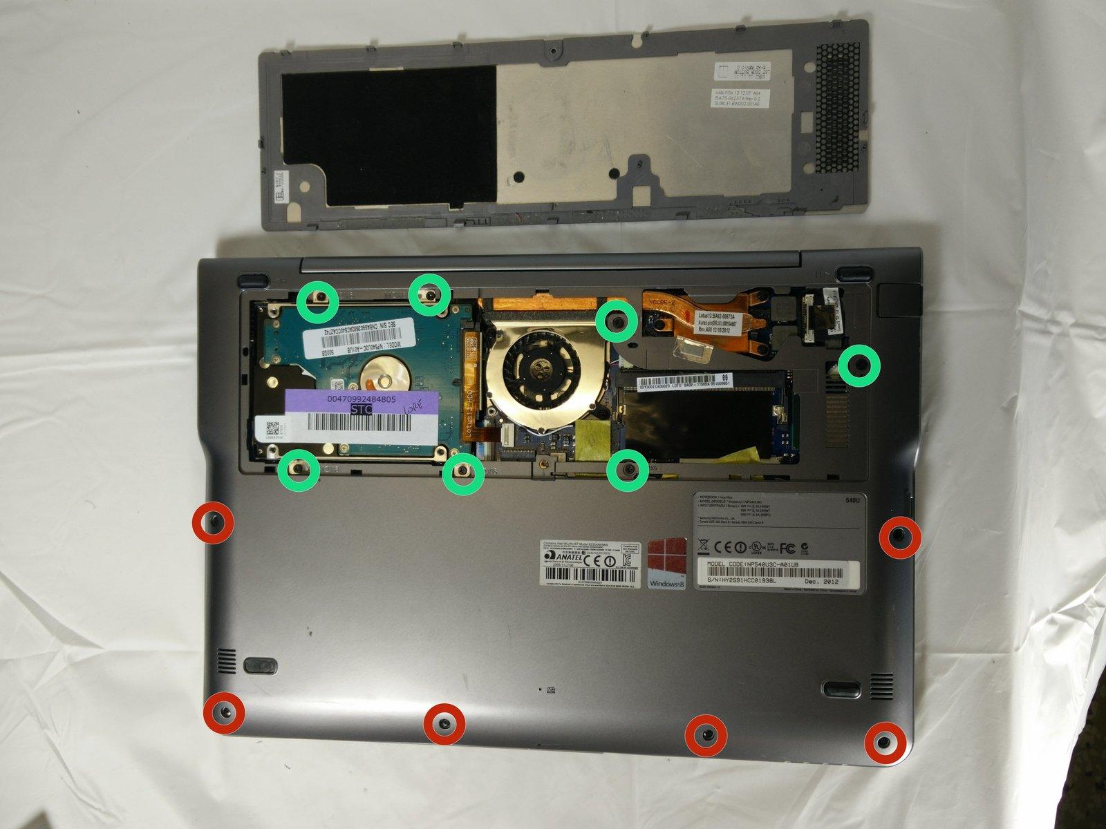 Зарядка аккумулятора Samsung Series 5 Ultrabook