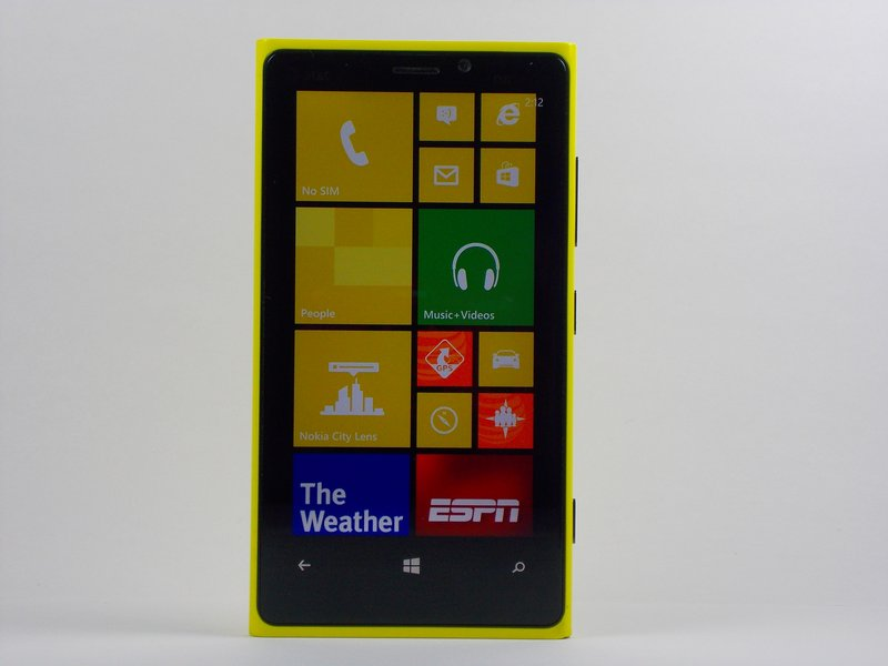 Stuck on Charging Screen - Can't Soft/Hard Reset - Nokia Lumia 920