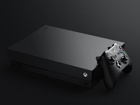 Xbox One X 内置硬盘更换指南