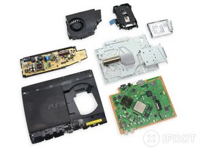 PlayStation 3 Super Slim Teardown