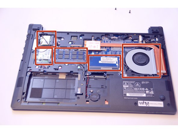 You now have access to all components of this laptop.