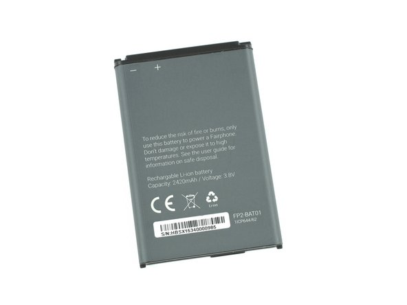 Image 2/2: This handy 3.8 V lithium ion cell is rated at 2420 mAh with an energy rating of 9.2 Wh.