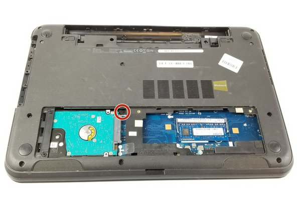 Make sure to remove all the screws, especially the inconspicuous 8.65 mm screw next to the hard drive.