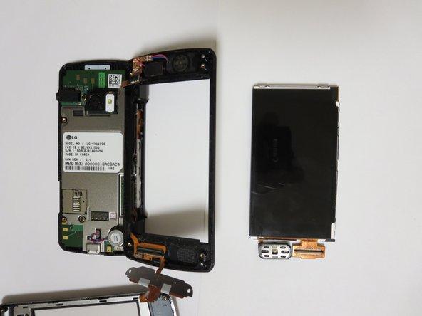 Remplacement de l'ensemble écran du LG EnV Touch VX11000