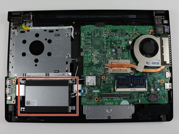 Dell Inspiron i3558-5500BLK Hard Drive Replacement