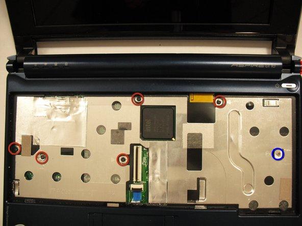 Image 1/2: Five black 4.7mm screws