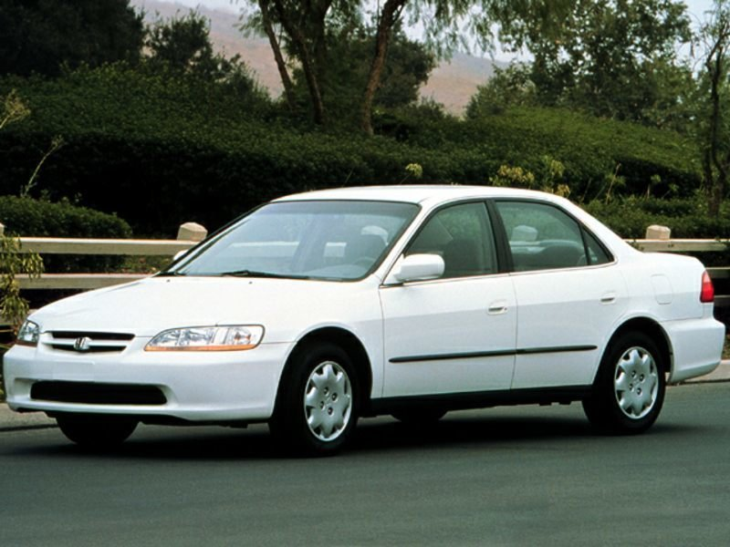 1998-2002 Honda Accord Repair (1998, 1999, 2000, 2001 ...