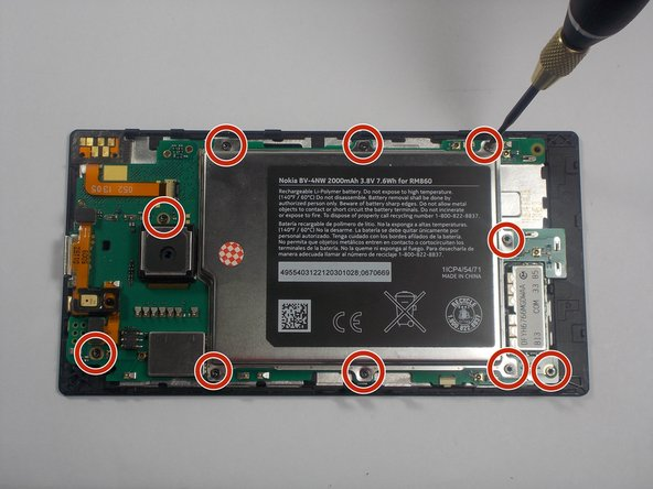 Nokia Lumia 928 Motherboard Replacement
