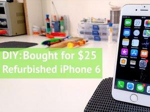 DIY: $25 iPhone 6 Restoration