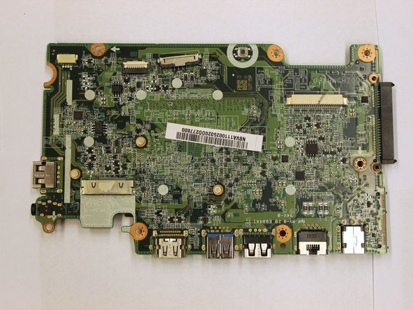 Acer TravelMate TMB115-M-C99B Motherboard Replacement