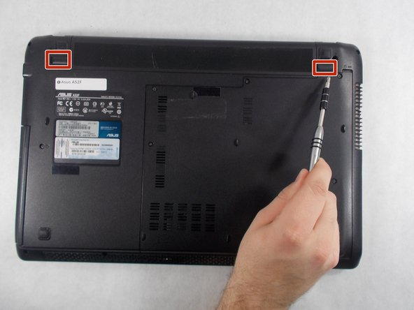Asus A52F XE2 Battery Replacement