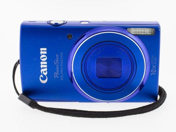 Canon PowerShot ELPH 150 IS  Face Plate Replacement