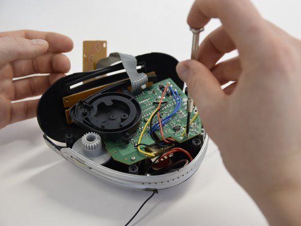 Remove 3 screws of the big PCB.