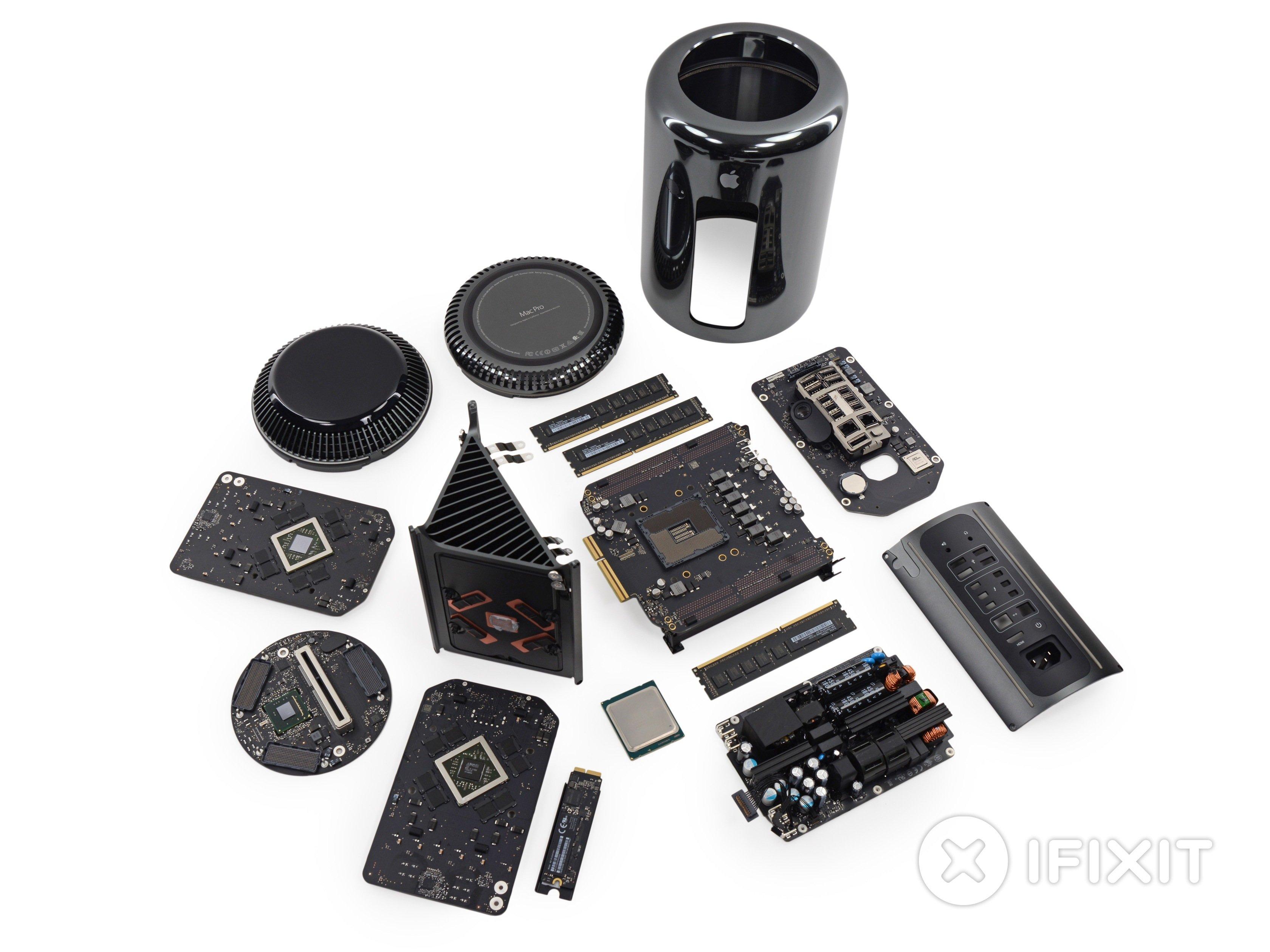Mac Pro Late 2013 Teardown