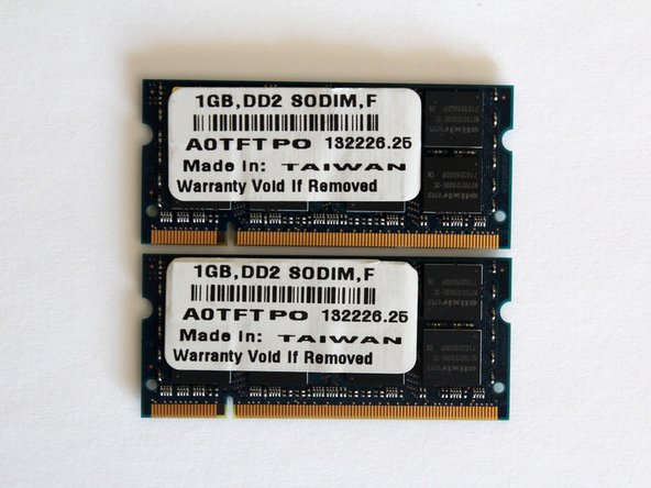 Gateway W350I RAM Replacement
