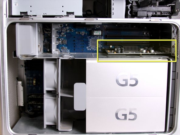 Power Mac G5 Graphics Card Replacement