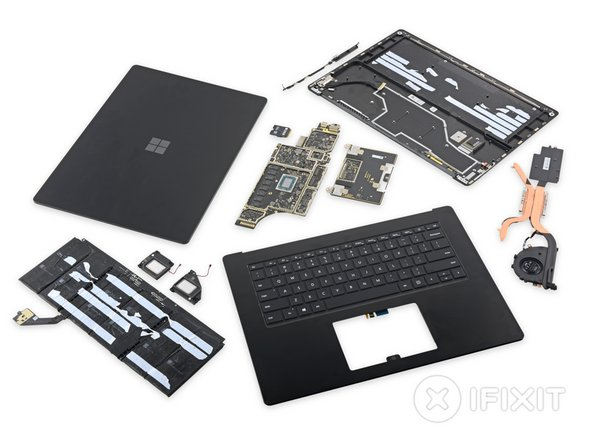 This concludes one very surprising Surface Laptop teardown.