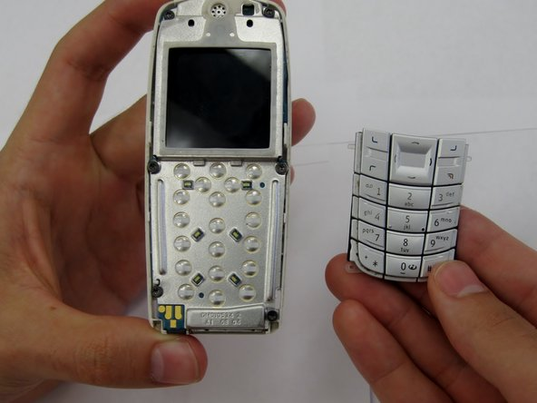 Once the cover plate has been removed, the existing keypad should be easily removed.