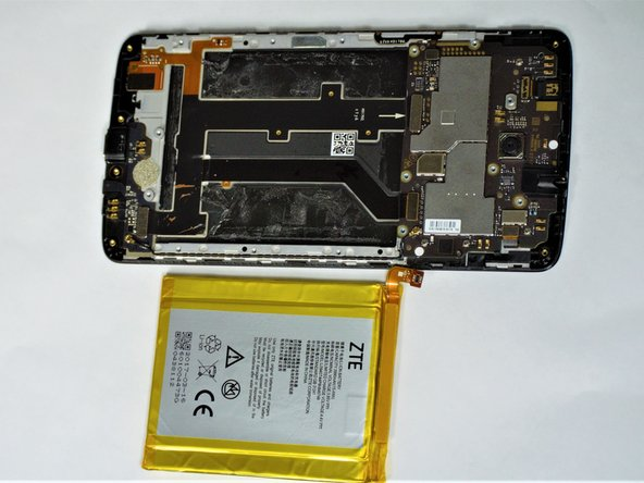 With the battery removed, you can now insert the new battery or replace other parts within your phone.