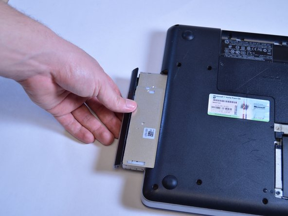 Image 2/2: The optical drive can then be removed by hand.