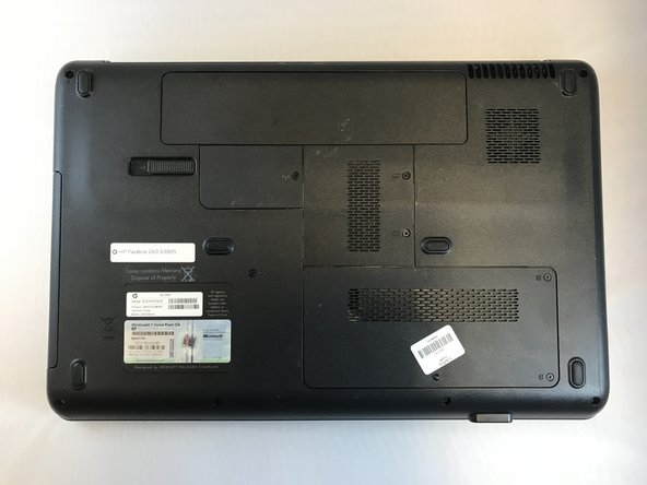HP Pavilion G60-630US Battery Replacement