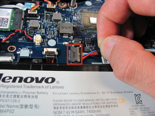 Lenovo Y50-70 Touch Battery Replacement - iFixit Repair Guide