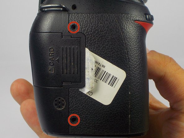 Nikon D90 Rear Display Buttons Replacement