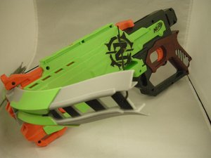 Nerf Zombie Strike Crossfire Bow Troubleshooting
